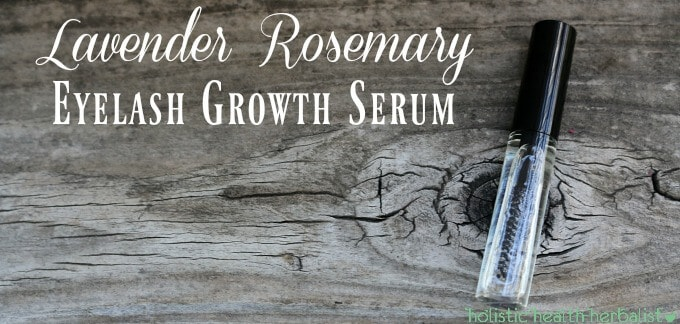 Lavender Rosemary Eyelash Growth Serum