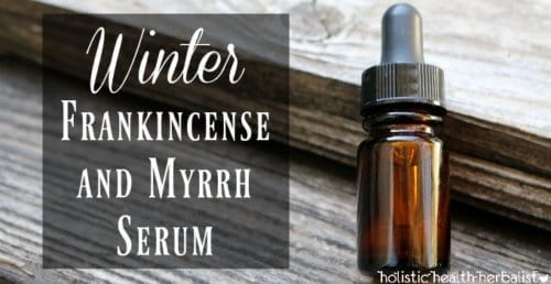 Winter Frankincense and Myrrh Serum