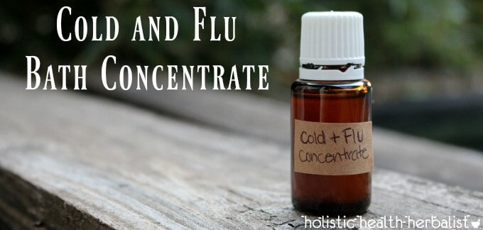 Cold and Flu Bath Concentrate