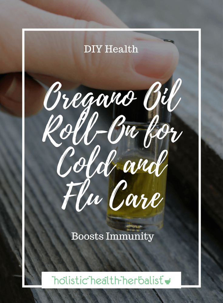 Oregano Oil Roll-On for Cold and Flu Care - Apply this roll-on to the bottoms of the feet to help boost immunity during cold and flu season.