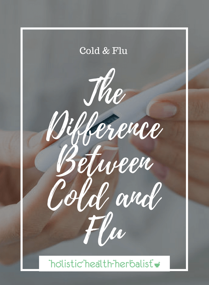 The Difference Between Cold and Flu - Learn about the key differences between a cold and the flu so that you can treat them most effectively.