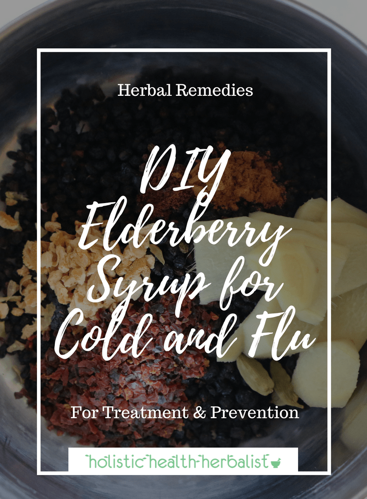 DIY Elderberry Syrup for Cold and Flu – Potent, Quick, & Easy! - Learn how to make delicious elderberry syrup that will help keep you and your family well through cold and flu season.