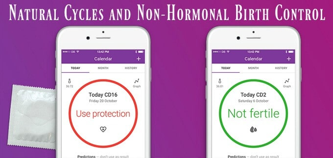 Natural Cycles and Non-Hormonal Birth Control