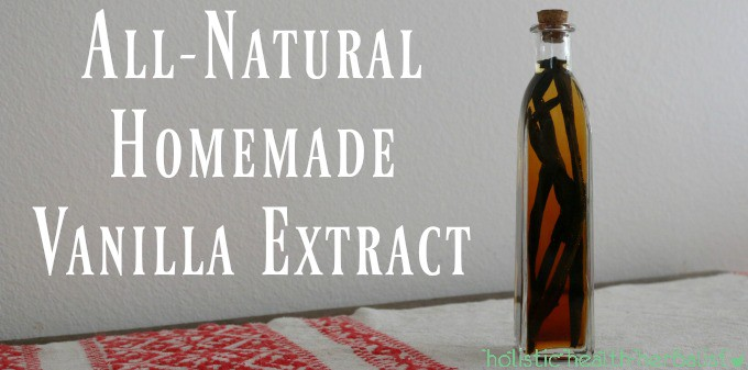 All-Natural Homemade Vanilla Extract