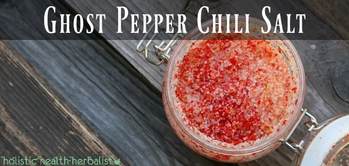 Ghost Pepper Chili Salt