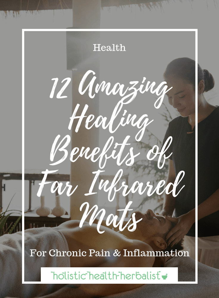 "12 Amazing Healing Benefits of Far Infrared Mats - Far infrared mats deliver healing heat that can be used to induce a ""healthy fever"" to trigger the body's natural healing defenses."
