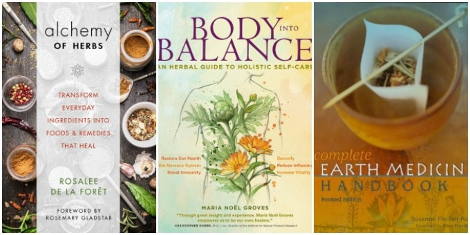 120+ Books for Your Herbal Library - beginner