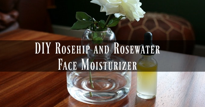 DIY Rosehip and Rosewater Face Moisturizer