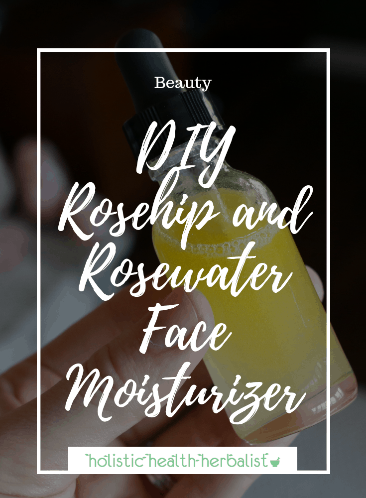 DIY Rosehip and Rosewater Face Moisturizer - This two-in-one moisturizer hydrates while giving your skin a boost of Vitamin C, antioxidants, and nourishing essential fatty acids.
