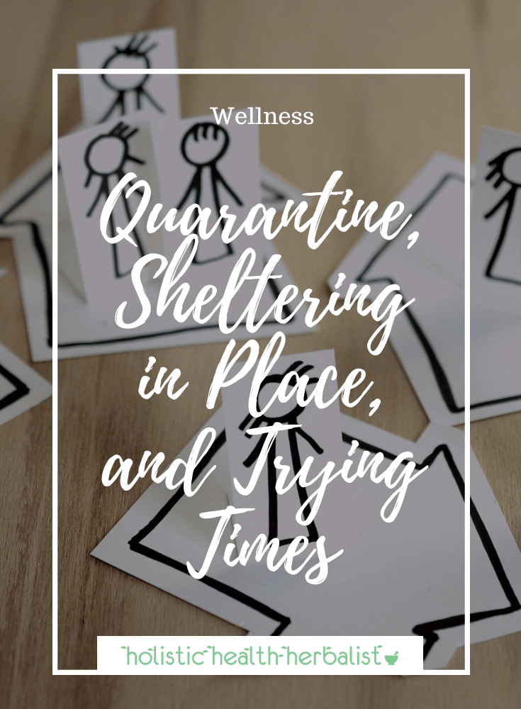 Quarantine, Sheltering in Place, and Trying Times – What I'm Doing
